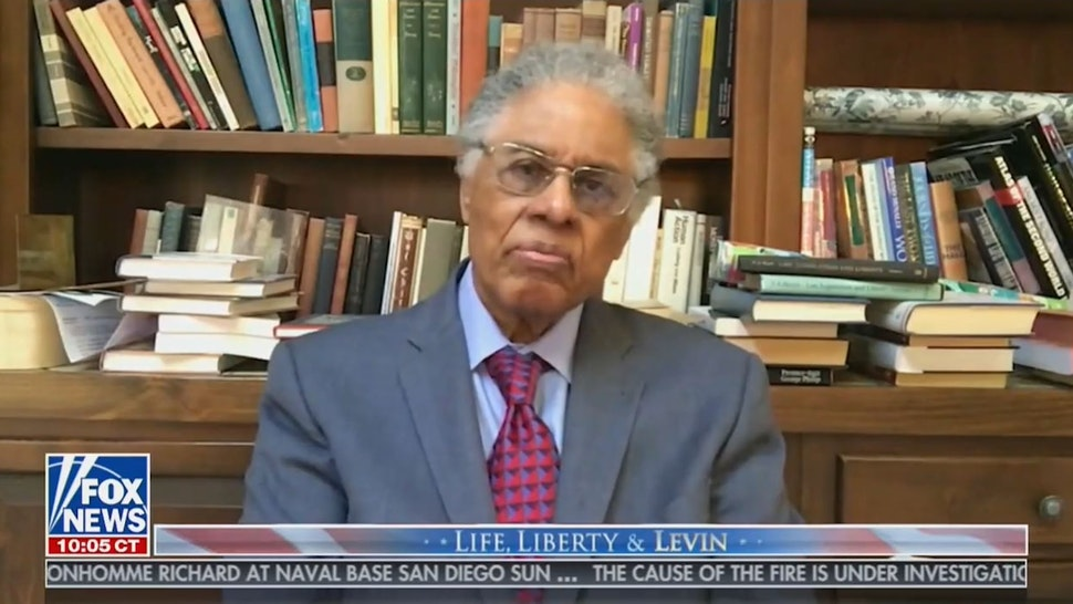 Thomas Sowell: Biden Win Maybe 'Point Of No Return' For U.S.; Claims Of 'Systemic Racism' Nazi-Like Propaganda