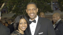 ernon Jones and wife during 2006 Trumpet Awards - Arrivals at Georgia World Congress Center in Atlanta, Georgia, United States. (Photo by Frank Mullen/WireImage)
