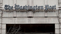 The headquarters for The Washington Post newspaper is seen in Washington, DC, December 24, 2015. The newspaper recently moved several blocks from their 1972-era headquarters to a state-of-the-art newsroom designed for the digital era.