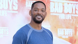 Us actors Martin Will Smith attends 'Bad Boys For Life' photocall at Villa Magna hotel on January 08, 2020 in Madrid, Spain