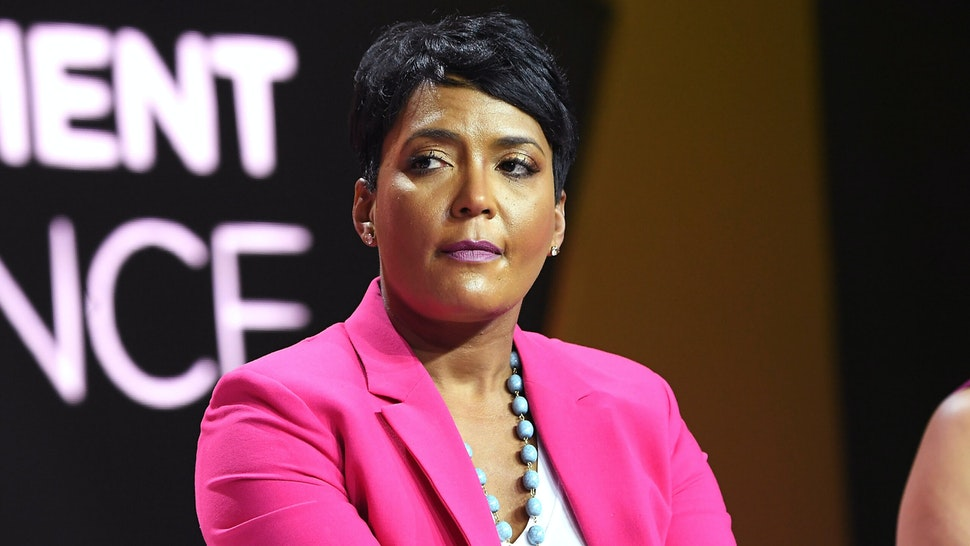 NEW ORLEANS, LA - JULY 07: Mayor of Atlanta Keisha Lance Bottoms speaks onstage during the 2018 Essence Festival presented by Coca-Cola at Ernest N. Morial Convention Center on July 7, 2018 in New Orleans, Louisiana.