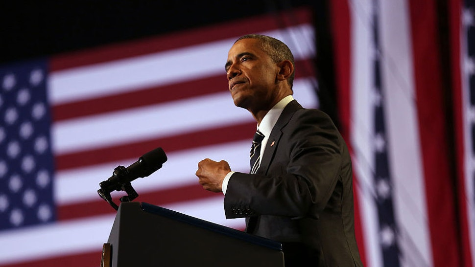 President Obama addresses community leaders at the Copernicus Community Center in Chicago to discuss executive actions he took on immigration, Tuesday, Nov. 25, 2014. (E. Jason Wambsgans/Chicago Tribune/TNS)