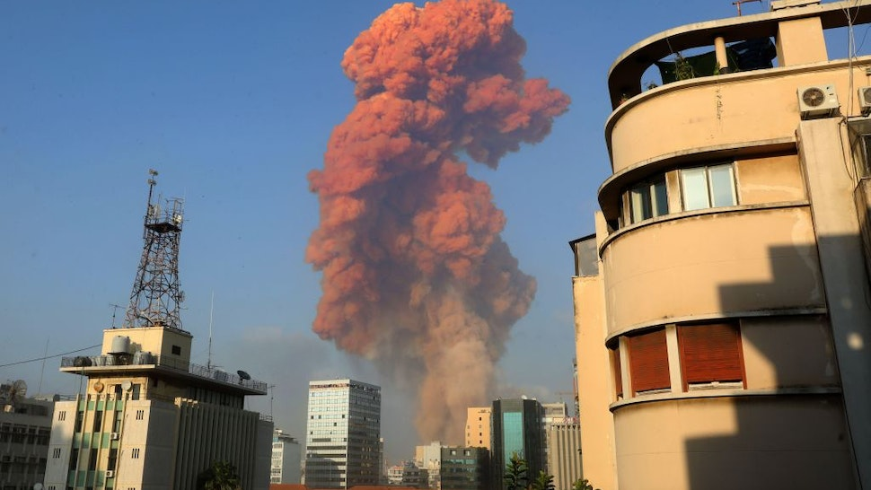 Massive Explosion Reported In Beirut, Lebanon