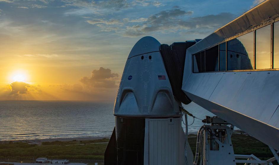 Historic NASA-Manned SpaceX Capsule Departs, Prepares For Splash Landing