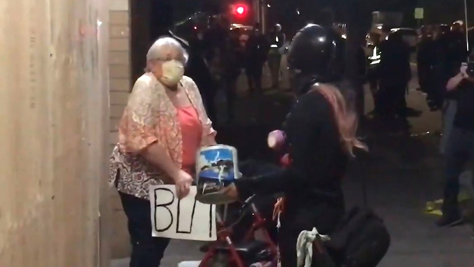 Portland elderly woman