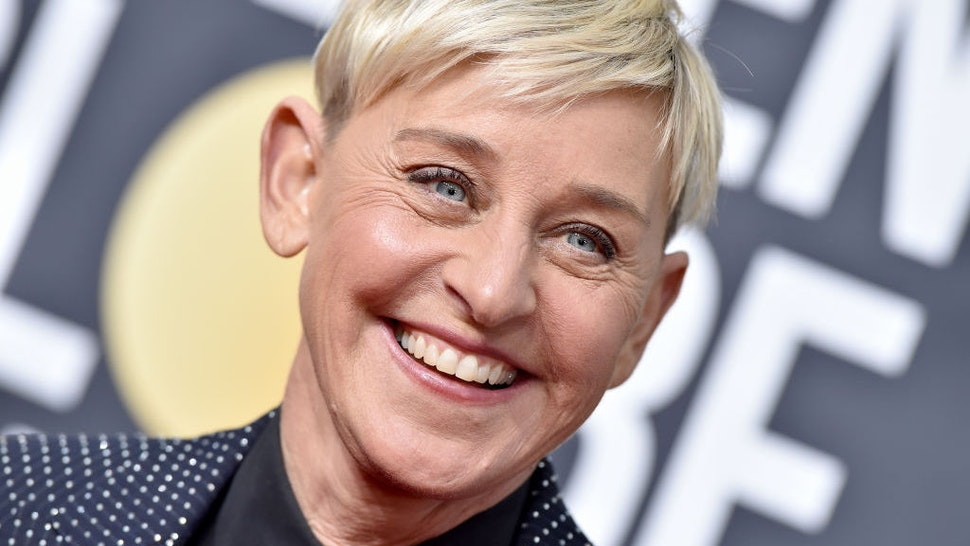 Ellen DeGeneres attends the 77th Annual Golden Globe Awards at The Beverly Hilton Hotel on January 05, 2020 in Beverly Hills, California. (Photo by Axelle/Bauer-Griffin/FilmMagic)