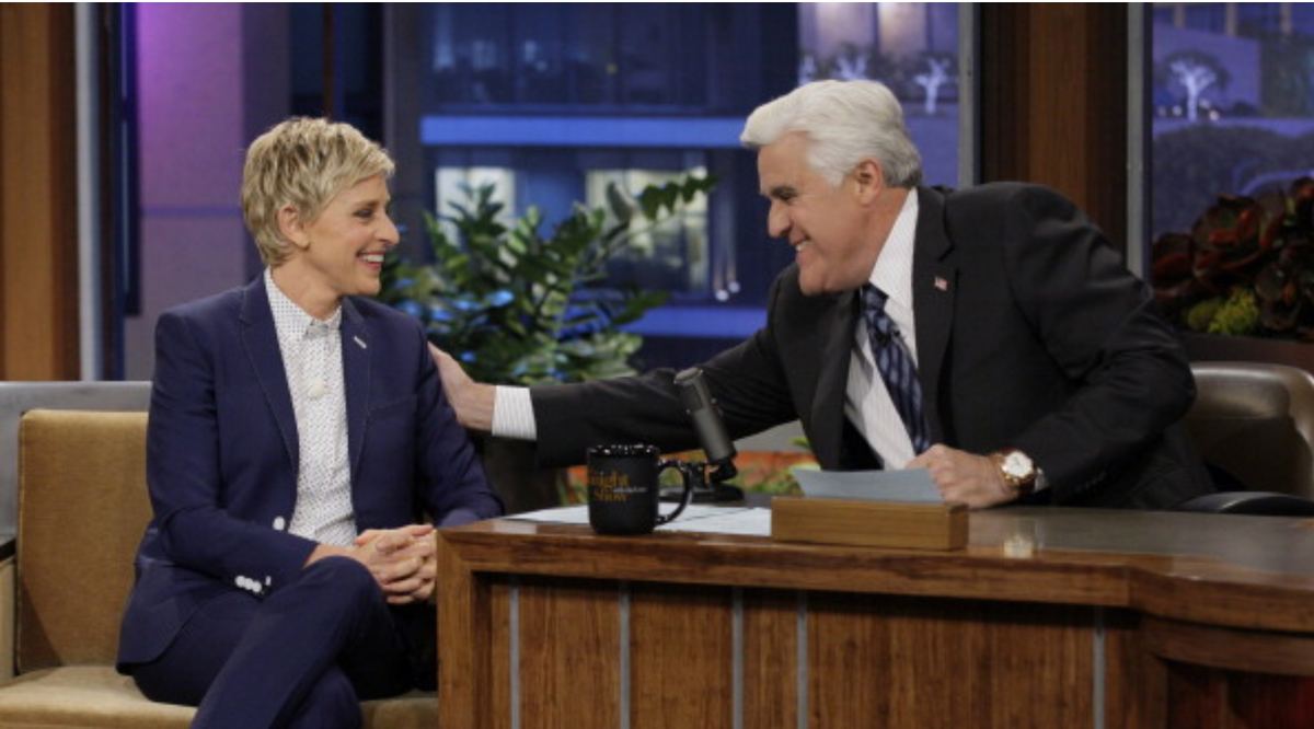 Jay Leno And Other Celebrities Come To Ellen's Defense Amid Allegations Of Coldness, Toxic Work Environment