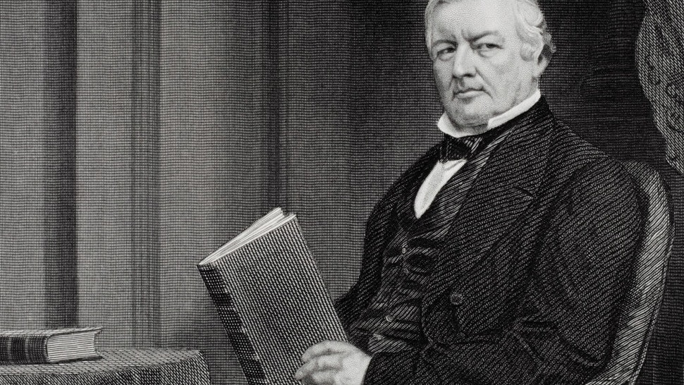 Millard Fillmore 1800 to 1874. 13th president of the United States 1850-53. From painting by Alonzo Chappel