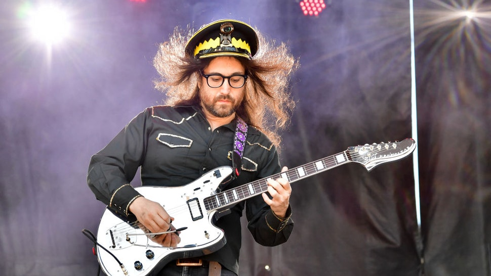 Sean Lennon performs during 2019 Sweetwater 420 Festival at Centennial Olympic Park on April 21, 2019 in Atlanta, Georgia.