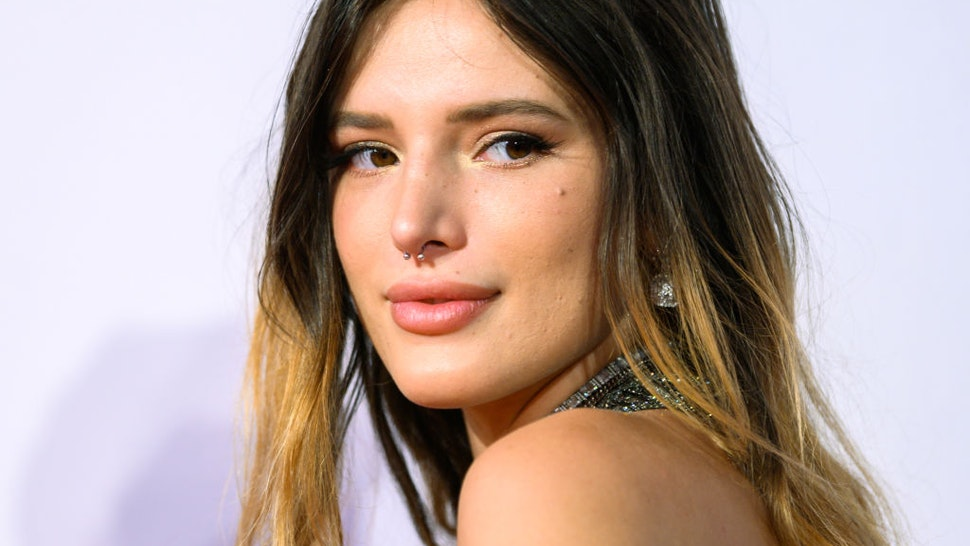 11 September 2019, Lower Saxony, Oldenburg: Bella Thorne, actress from the USA, stands on the red carpet during the opening gala of the Oldenburg International Film Festival.