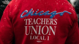 CHICAGO, IL - OCTOBER 31: Braving snow and cold temperatures, thousands marched through the streets near City Hall during the 11th day of an ongoing teachers strike on October 31, 2019 in Chicago, Illinois. Union leadership has announced a tentative agreement on a new contract with Chicago Public Schools and Mayor Lori Lightfoot, but is refusing to return to work until paid teaching days lost during the strike are added to the year's school calendar. (Photo by Scott Heins/Getty Images)
