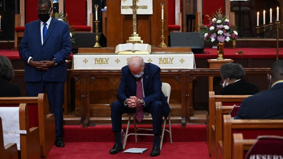Joe Biden prayer