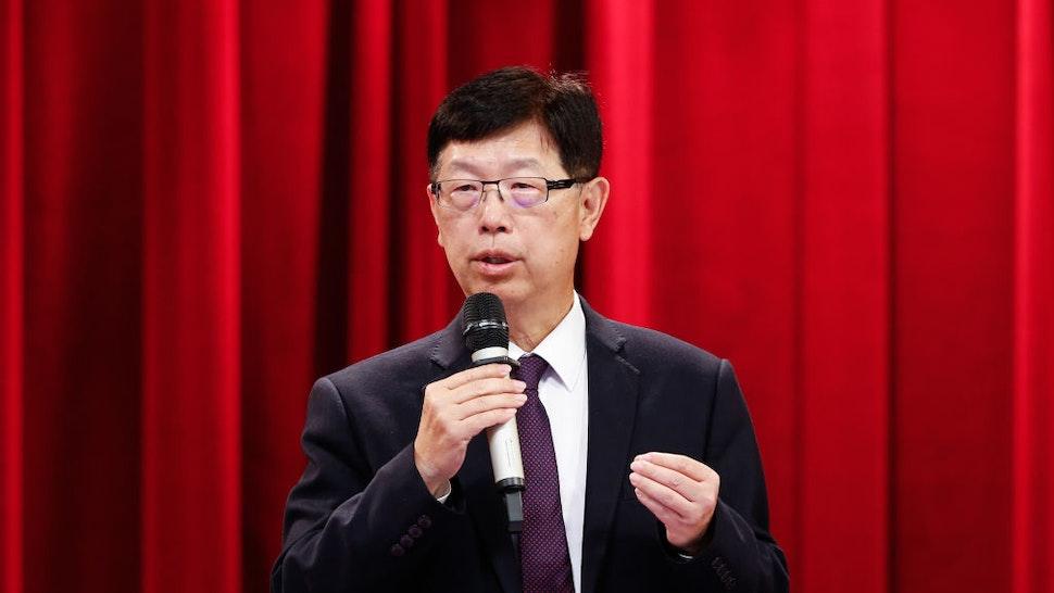Young Liu, chairman of Hon Hai Precision Industry Co.