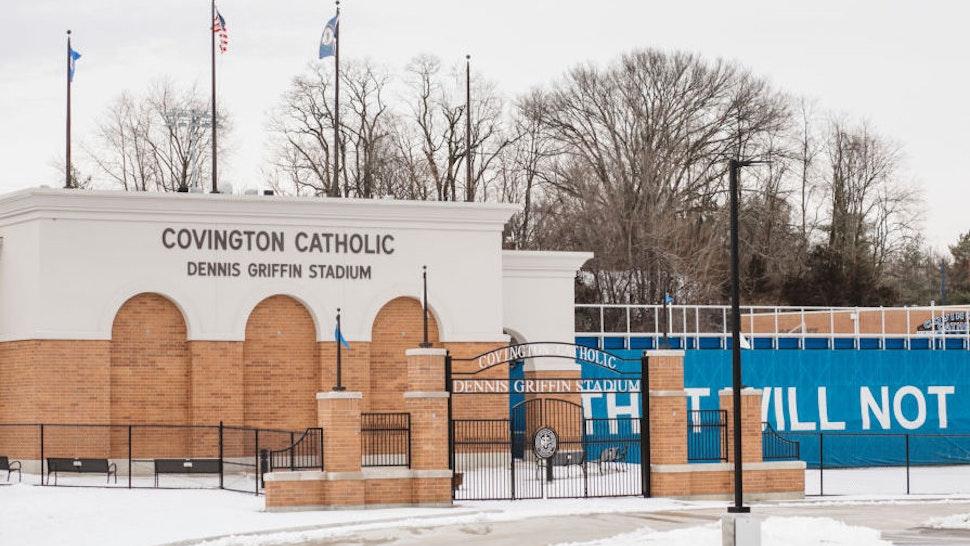 Covington Catholic High School was closed on January 22, 2019.