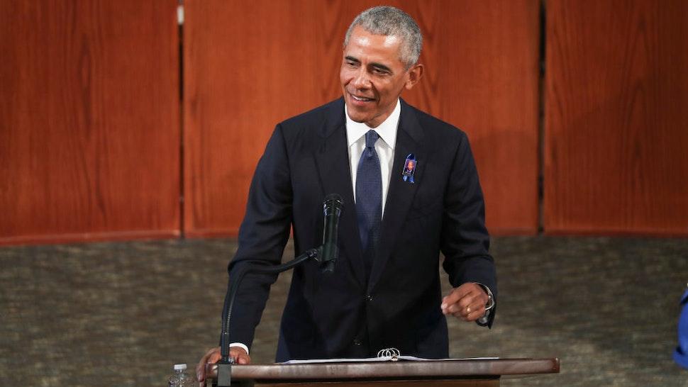 Obama John Lewis funeral