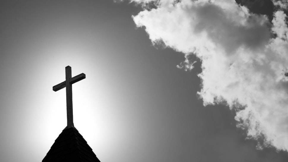 Dark Church Steeple