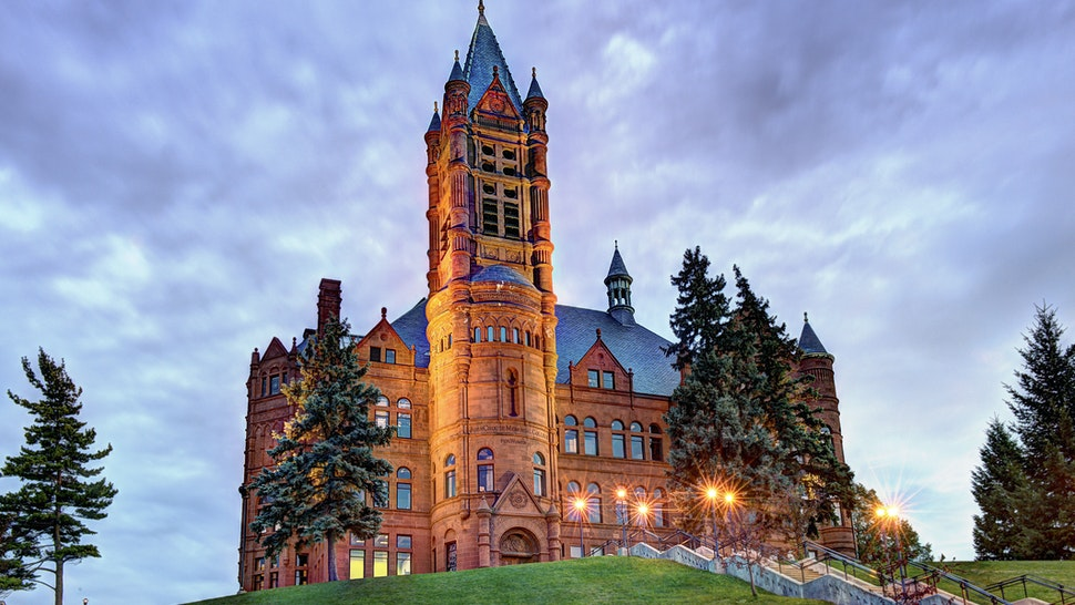 Crouse College Syracuse University - stock photo