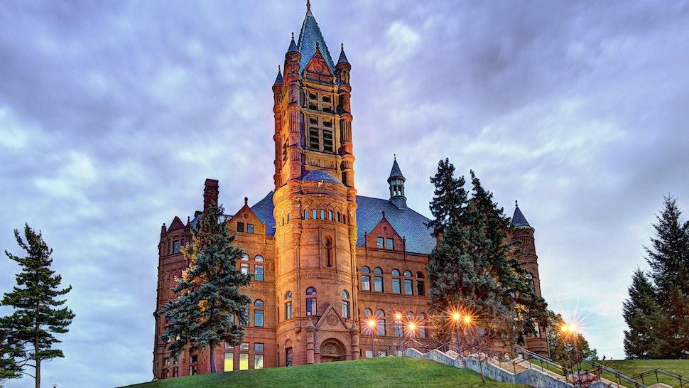 Crouse College Syracuse University - stock photo