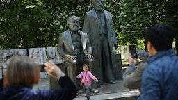 Girl with Marx