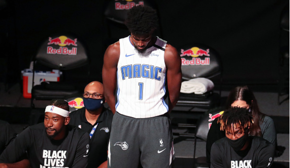 Jersey Sales Soar For Orlando Magic's Jonathan Isaac After He Stood Alone For National Anthem