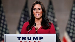 Lieutenant Governor of Florida Jeanette Nunez speaks during the second day of the Republican convention at the Mellon auditorium on August 25, 2020 in Washington, DC.