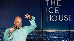 PASADENA, CA - MARCH 15: Comedian Joe Rogan performs during his appearance at The Ice House Comedy Club on March 15, 2019 in Pasadena, California.