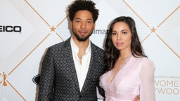 BEVERLY HILLS, CA - MARCH 01: Jussie Smollett (L) and Jurnee Smollett-Bell attend the 2018 Essence Black Women In Hollywood Oscars Luncheon at Regent Beverly Wilshire Hotel on March 1, 2018 in Beverly Hills, California.