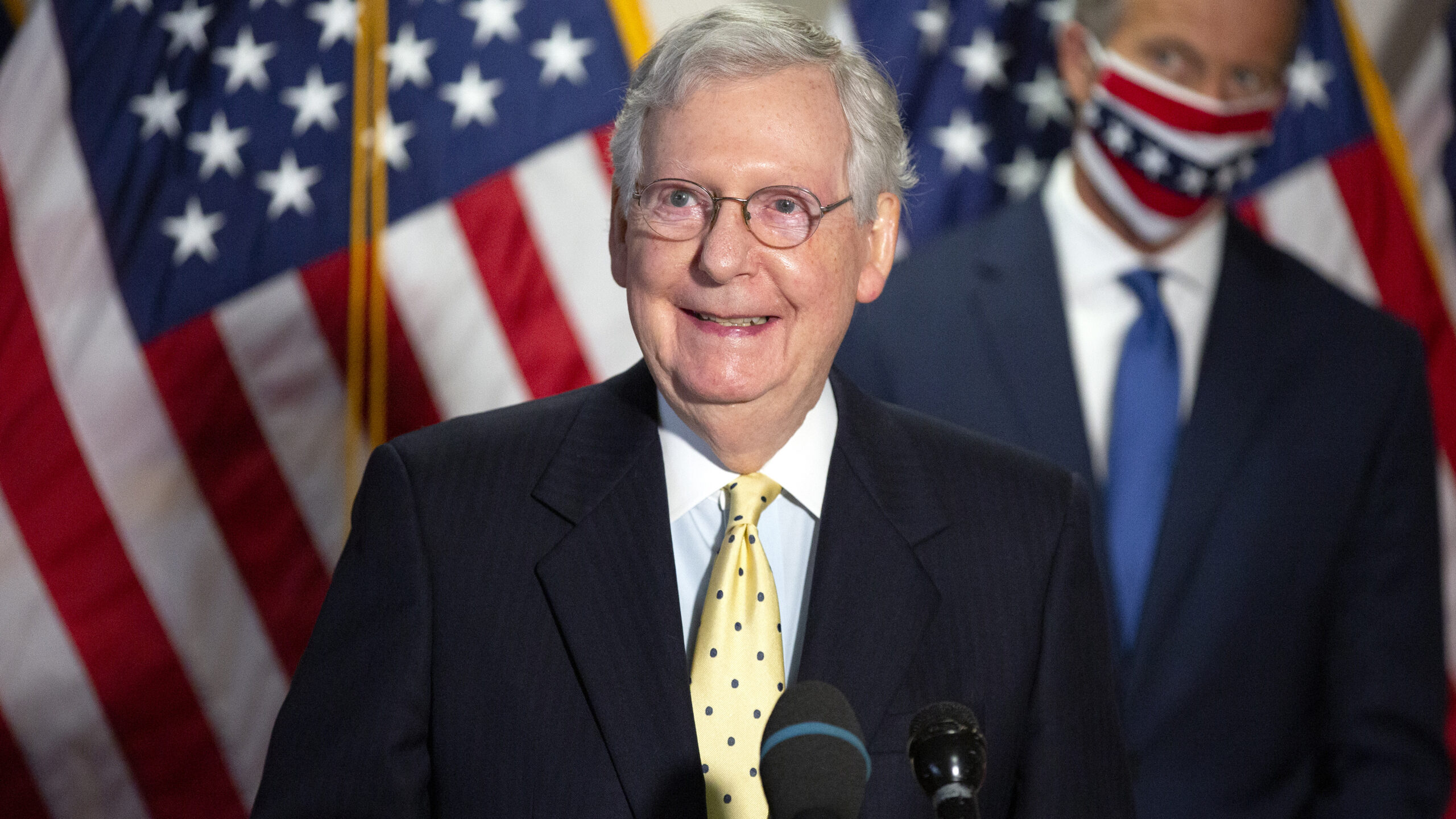 McConnell Blocks Initial $2,000 Stimulus Check Bill: Democrats 'Quietly Changed' What Trump Wanted To Give Money To Their Rich Friends