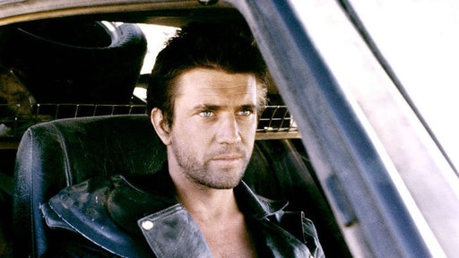 American actor Mel Gibson on the set of Mad Max 2: The Road Warrior written and directed by George Miller. (Photo by Sunset Boulevard/Corbis via Getty Images)
