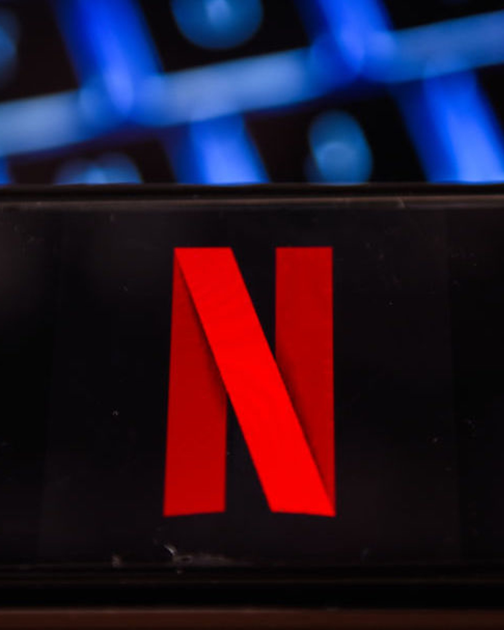 In this photo illustration, a Netflix logo is displayed on a smartphone. (Photo Illustration by Omar Marques/SOPA Images/LightRocket via Getty Images)