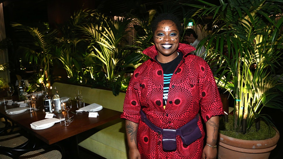 WEST HOLLYWOOD, CALIFORNIA - FEBRUARY 13: Patrisse Cullors attends the Frieze Project Artist Patrisse Cullors x Summit x Cultured Magazine Dinner at The West Hollywood EDITION on February 13, 2020 in West Hollywood, California.