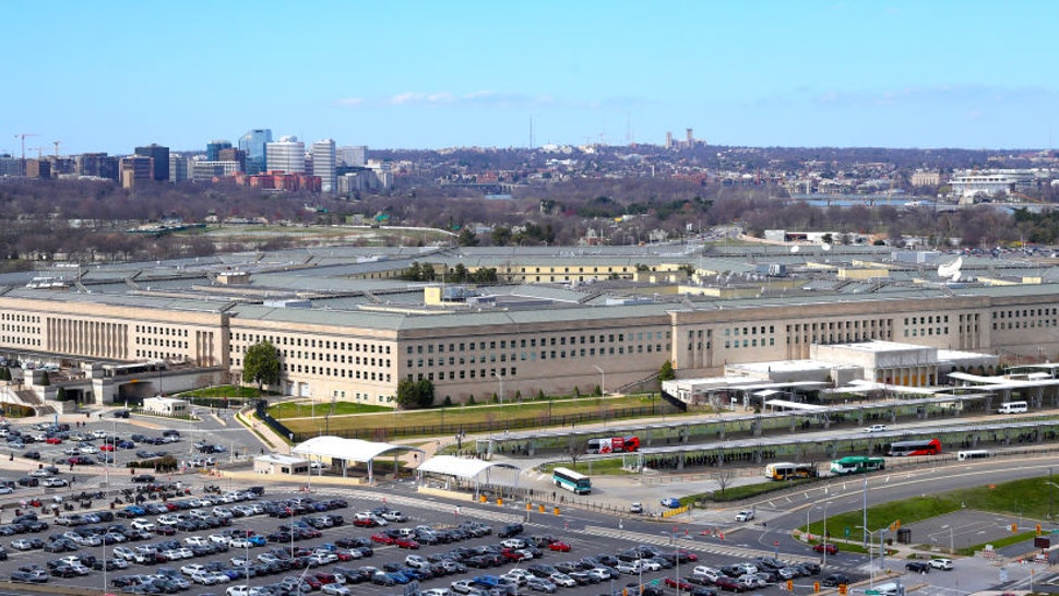 A general view of of the Pentagon ,headquarters of the US Department of Defense in Washington DC.