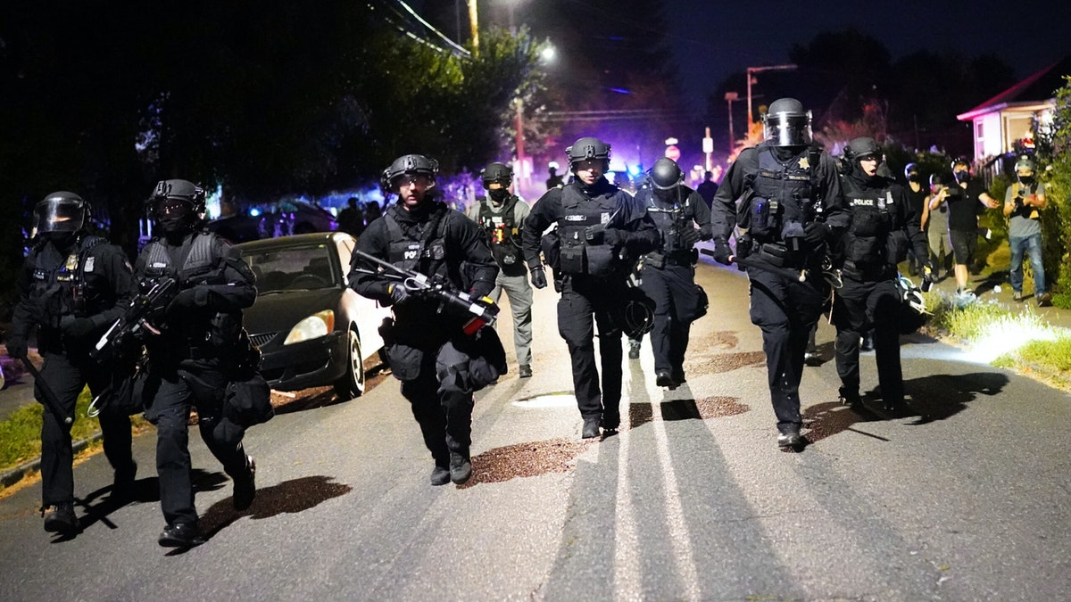 Portland Rioters Storm Man's Home While Fleeing Police: 'Get The F*** Off My Property!'