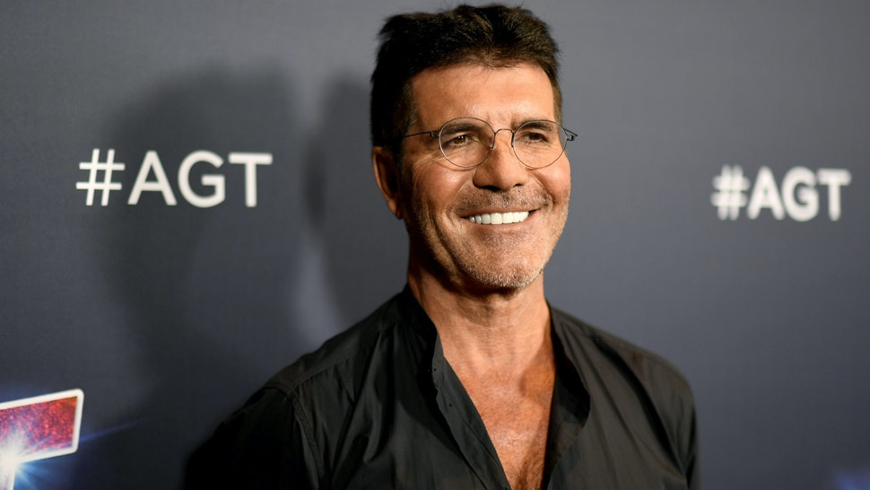 "HOLLYWOOD, CALIFORNIA - SEPTEMBER 17: Simon Cowell attends ""America's Got Talent"" Season 14 Live Show Red Carpet at Dolby Theatre on September 17, 2019 in Hollywood, California."