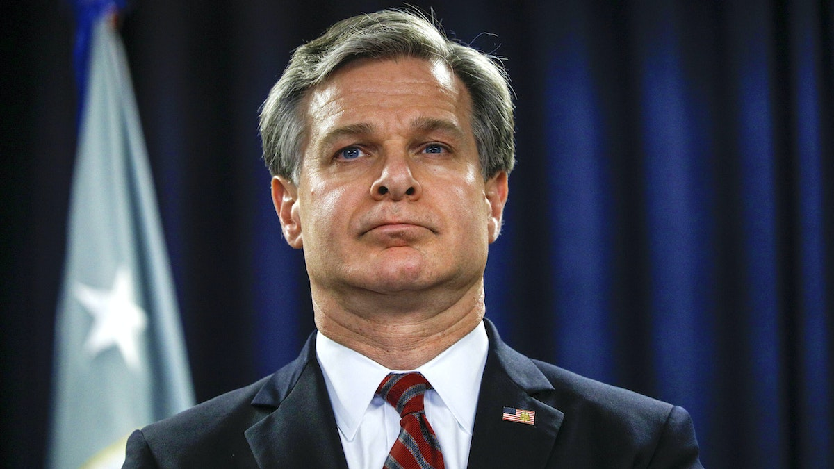 WATCH: FBI Director Chris Wray Warns Americans On 3 Things They Need To Know About China