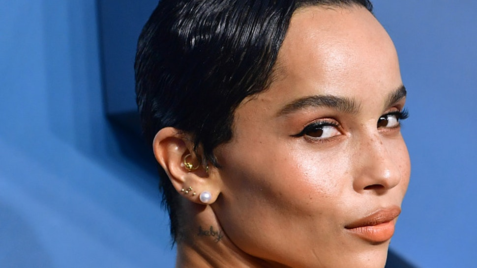 US actress Zoe Kravitz arrives for the 26th Annual Screen Actors Guild Awards at the Shrine Auditorium in Los Angeles on January 19, 2020.