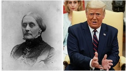 Susan B. Anthony and Trump