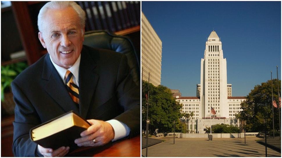 MacArthur and LA City Hall