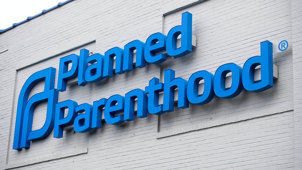 The logo of Planned Parenthood is seen outside the Planned Parenthood Reproductive Health Services Center in St. Louis, Missouri, May 30, 2019, the last location in the state performing abortions. - A US court weighed the fate of the last abortion clinic in Missouri on May 30, with the state hours away from becoming the first in 45 years to no longer offer the procedure amid a nationwide push to curtail access to abortion.