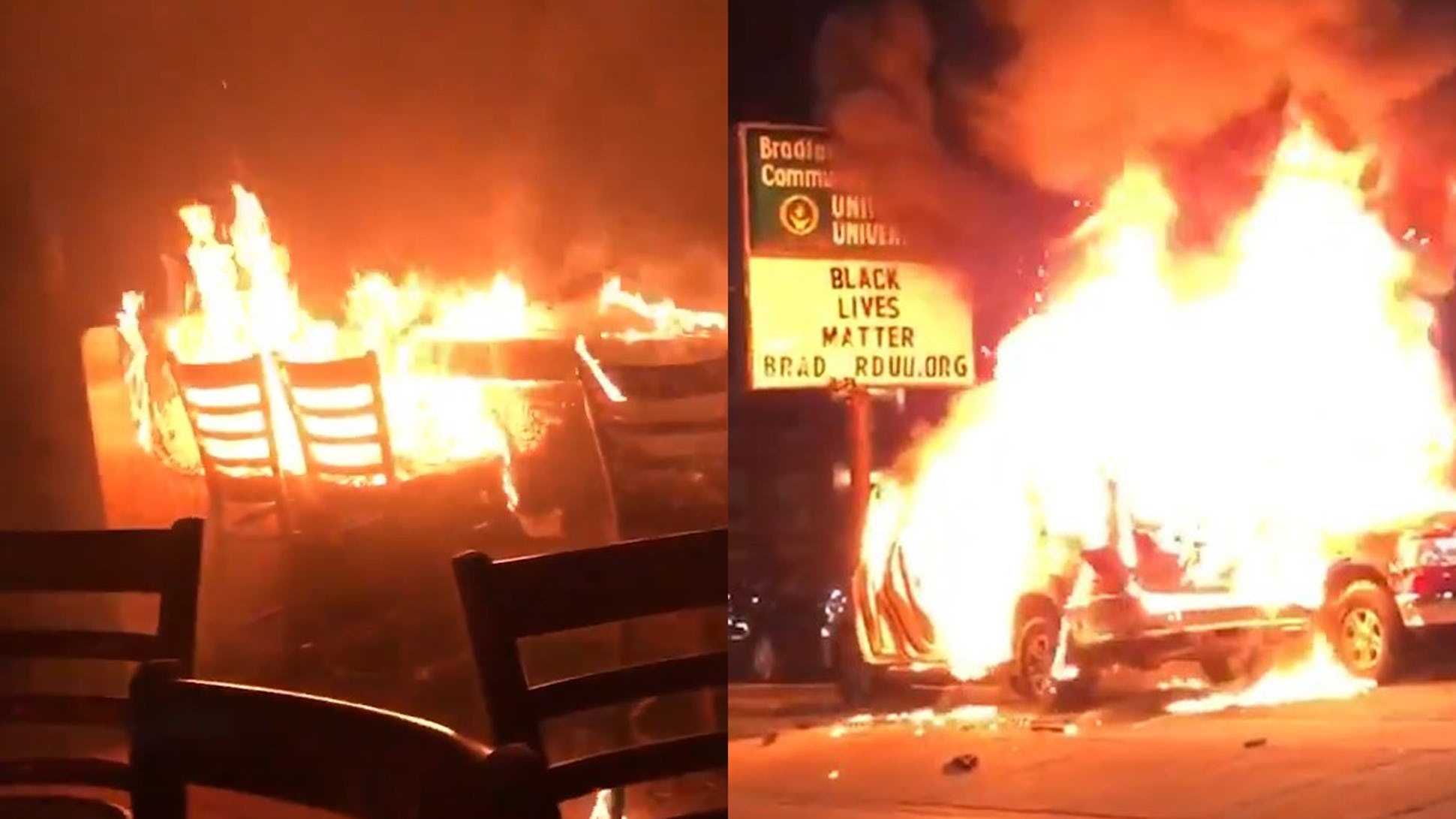 Kenosha destroyed by rioters