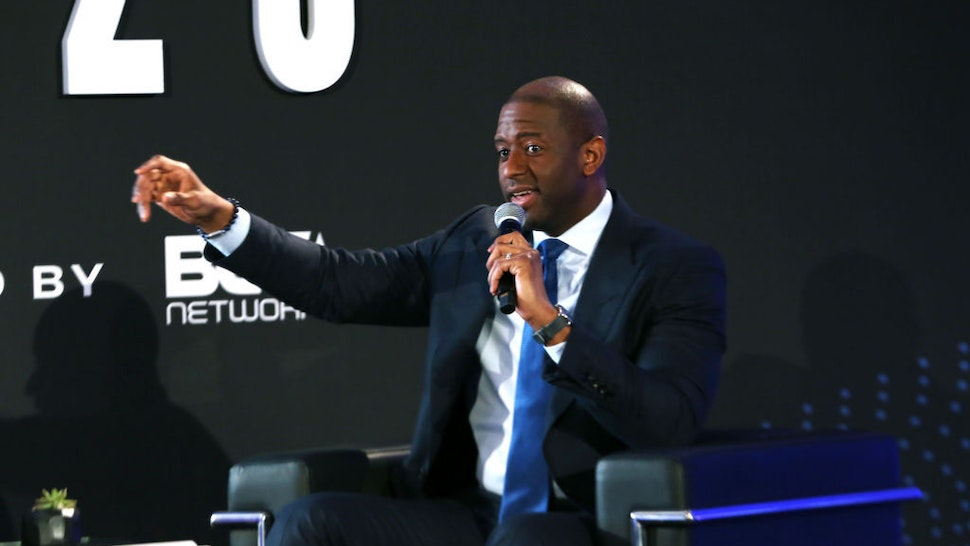 LOS ANGELES, CALIFORNIA - FEBRUARY 20: Andrew Gillum speaks onstage during META – Convened By BET Networks at The Edition Hotel on February 20, 2020 in Los Angeles, California. (Photo by Robin L Marshall/Getty Images for BET)