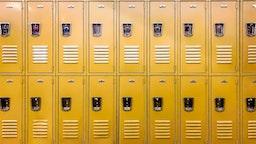 Lockers.