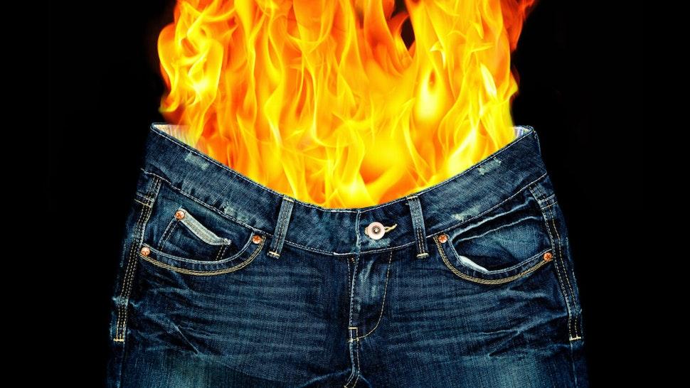 Pants on fire.