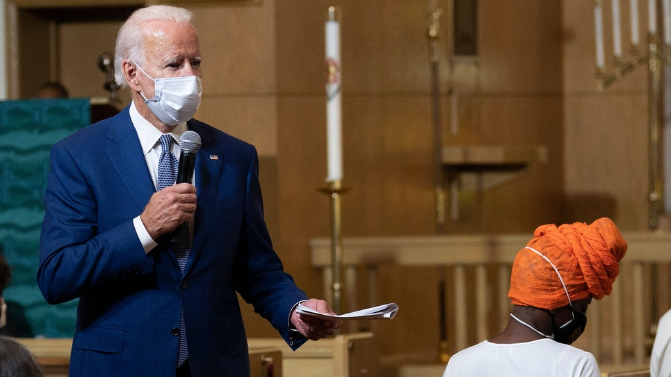 Highlights from Biden's trip to Kenosha to meet with Jacob Blake family Biden Tells Audience: 'They'll Shoot Me' Woman Told She Had To Read Off Script