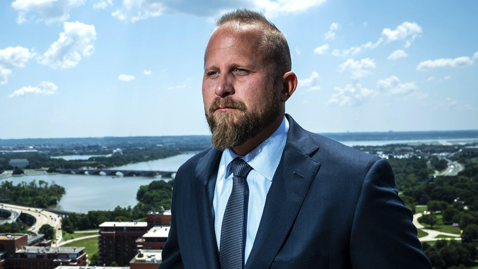 ARLINGTON, VA - JULY 25 : Campaign Manager for President Donald J. Trump's 2020 Presidential Campaign Brad Parscale poses for a portrait at the Northern Virginia campaign headquarters on Thursday, July 25, 2019 in Arlington, VA.