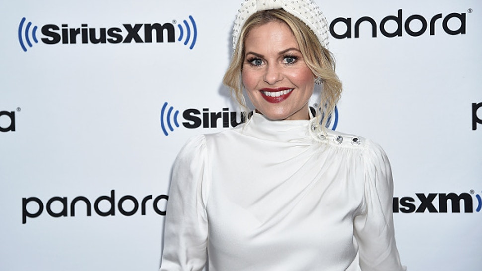 NEW YORK, NEW YORK - DECEMBER 03: (EXCLUSIVE COVERAGE) Candace Cameron Bure visits SiriusXM Studios on December 03, 2019 in New York City.