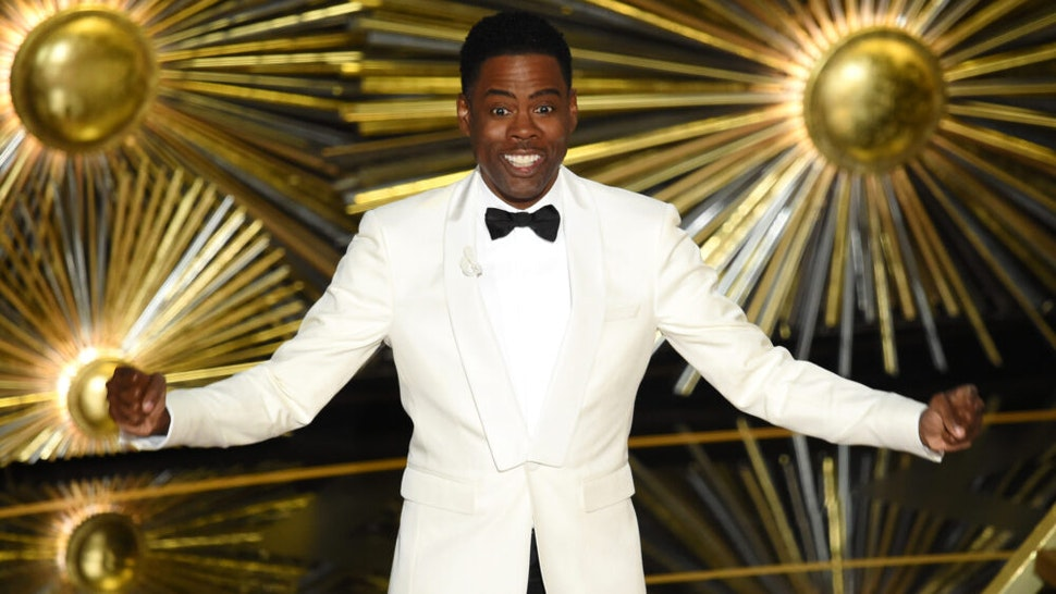 HOLLYWOOD, CA - FEBRUARY 28: Host Chris Rock speaks onstage during the 88th Annual Academy Awards at the Dolby Theatre on February 28, 2016 in Hollywood, California.