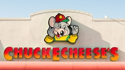 TORONTO, ONTARIO, CANADA - 2015/03/28: Chuck E Cheese entrance. Chuck E. Cheese's is a chain of American family entertainment center restaurants. The chain is the primary brand of CEC Entertainment, Inc.