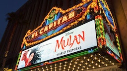 HOLLYWOOD, CALIFORNIA - MARCH 09: A view of the atmosphere at the World Premiere of Disney's 'MULAN' at the Dolby Theatre on March 09, 2020 in Hollywood, California. (Photo by Charley Gallay/Getty Images for Disney)