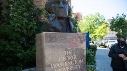 The campus of George Washington University